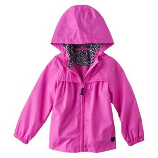 Just One You by Carters Infant Toddler Girls Windbreaker Jacket   Pink 4T