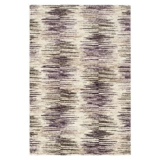 Safavieh Rolland Area Rug   Light Brown/Eggplant (5x8)