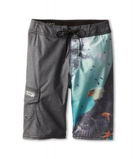 Billabong Kids Wild Boardshort Boys Swimwear (Brown)