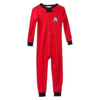 St. Eve Infant Toddler Boys Long Sleeve Trouble Maker Union Suit   Red 18 M