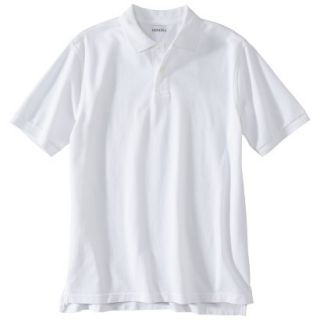 Mens Classic Fit Polo Shirt White XXXL