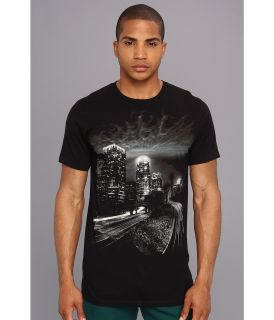 Famous Stars & Straps Dark City Premium Tee Mens T Shirt (Black)