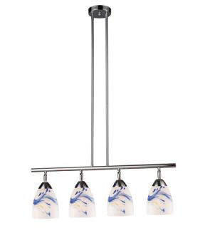Celina 4 Light Island Lights in Polished Chrome 10153/4PC MT