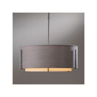 Exos Medium Double Shade Pendant