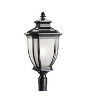 Salisbury 1 Light Post Lights & Accessories in Black (Painted) 9940BK