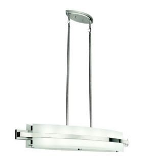 Freeport 6 Light Island Lights in Polished Nickel 42087PN