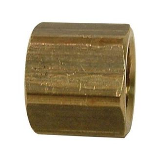 Watts 1/2 in. Brass FPT Cap LF A819