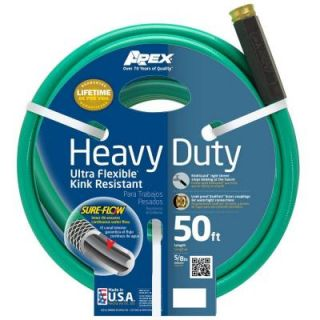 Apex 5/8 in. x 50 ft. Heavy Duty Garden Hose 8509 50