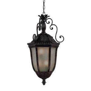 Acclaim Lighting Renaissance Collection Hanging Lantern 6 Light Outdoor Marbelized Mahogany Light Fixture 736MM