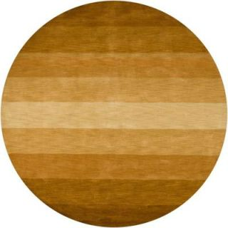 Chandra Metro Brown 7 ft. 9 in. Round Indoor Area Rug MET564 79RD