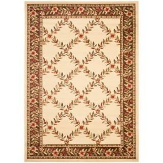 Safavieh Lyndhurst Ivory/Brown 5 ft. 3 in. x 7 ft. 6 in. Area Rug LNH557 1225 5