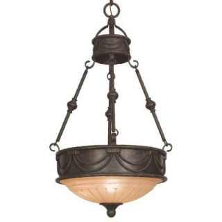 Yosemite Home Decor Isabella Collection 3 Light Hanging Pendant F051D03EB