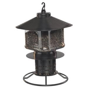 First Nature Clear Lantern Sunflower Seed Feeder 993038 404