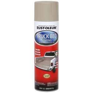 Rust Oleum Automotive 15 oz. Tan Truck Bed Coating Spray Paint (6 Pack) 253438