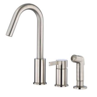 Danze Amalfi Single Handle Kitchen Faucet in Stainless Steel D409030SS