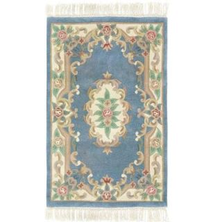 Home Decorators Collection Imperial Light Blue 5 ft. x 8 ft. Area Rug 0294330340