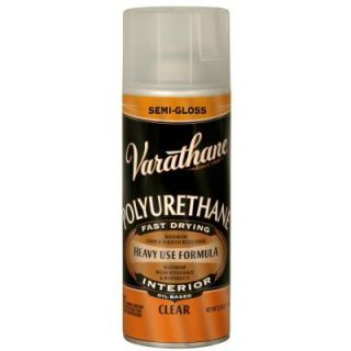 Varathane 11.25 oz. Clear Semi Gloss Oil Based Interior Polyurethane Spray 6081