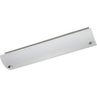 Progress Lighting 2 Light Brushed Nickel Fluorescent Bath Light P7218 09EB