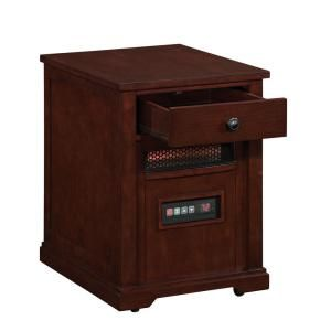 Duraflame 1500 Watt Electric Infrared Quartz Heater with Drawer   Cherry 10HET6493 C221