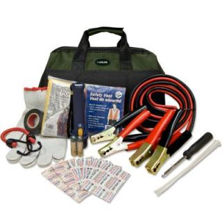Lifeline 34 Piece Emergency Road Side Safety and First Aid Kit 4310LL