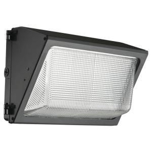 Lithonia Lighting Outdoor Bronze LED Wall Pack TWR1 LED 1 50 K MVOLT M2