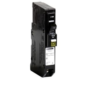 Square D by Schneider Electric QO 15 Amp Single Pole Plug on Neutral CAFCI Circuit Breaker QO115PCAFI