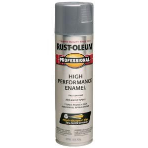 Rust Oleum Professional 15 oz. Gloss Stainless Steel Spray Paint (6 Pack) 7519838
