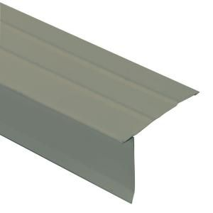2.62 in. x 144 in. Aluminum Hickory Drip Edge Flashing CAD12 HKY