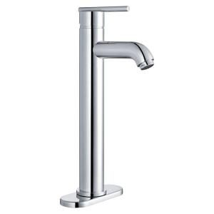 Yosemite Home Decor 4 in. Centerset 1 Handle Lavatory Faucet with Single Hole Installation in Polished Chrome YP28VF PC