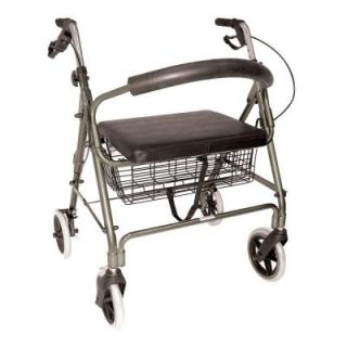DMI Lightweight Extra Wide Heavy Duty Rollator in Aluminum 501 1029 4100