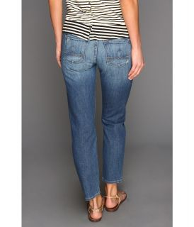 Lucky Brand Sofia Capri in Destructed Chloe Womens Jeans (Blue)