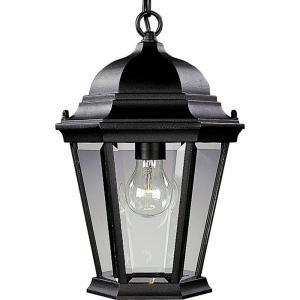 Progress Lighting Welbourne Collection Outdoor Hanging Textured Black Lantern P5582 31