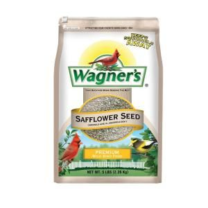 Wagners 5 lb. Safflower Seed Wild Bird Food 57075