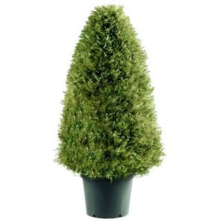 National Tree Company 30 in. Upright Juniper Artificial Tree in Green Round Growers Pot LCY4 30