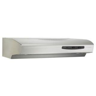 NuTone Allure I Series 36 in. Convertible Range Hood in Stainless Steel WS136SS