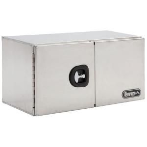 Buyers Products Company 36 in. Smooth Aluminum Double Barn Door Underbody Tool Box 1705305