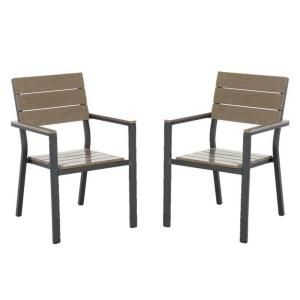 Hampton Bay Northridge Patio Dining Chair (2 Pack) FCA30009P