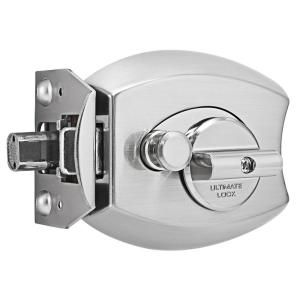 Millennium Lock Satin Nickel Door Locking Ultimate Lock System Residential   3000 Series   SN