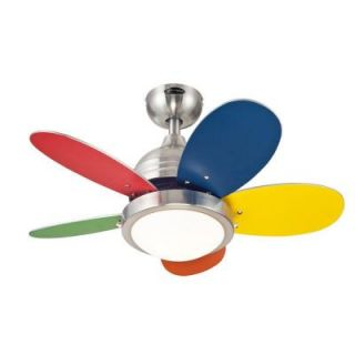 Westinghouse Roundabout 30 in. Brushed Nickel Ceiling Fan 7247500