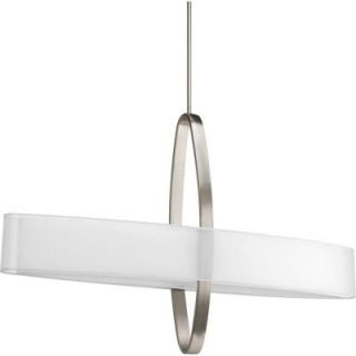 Progress Lighting Cuddle Collection 6 Light Brushed Nickel Pendant P5049 09