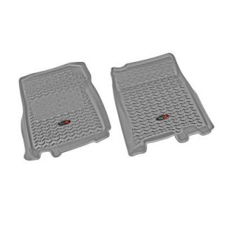 Rugged Ridge Floor Liner Front Pair Gray 1997 2003 Ford F150 Extended Cab 84902.04