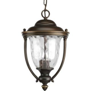 Progress Lighting Prestwick Collection 2 Light Outdoor Oil Rubbed Bronze Hanging Lantern P5539 108