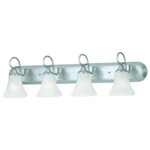 Thomas Lighting Elipse 4 Light Brushed Nickel Wall Vanity SL744478