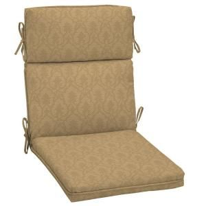 Hampton Bay Bellagio High Back Outdoor Chair Cushion ND02201B 9D1