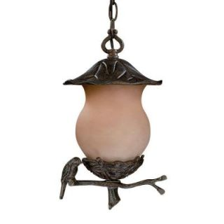 Acclaim Lighting Avian Collection Hanging Outdoor 2 Light Black Coral Light Fixture DISCONTINUED 7566BC/CH