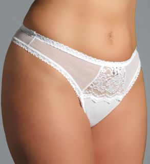 Shirley of Hollywood X144 Plus Size Chopper Lace Thong