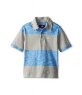 Quiksilver Kids On Point Polo Boys Short Sleeve Pullover (Gray)