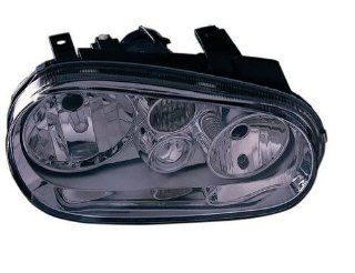 OE Replacement Volkswagen Golf/GTI/GTA Left Composite Headlamp Assembly (Partslink Number VW2502119) Automotive