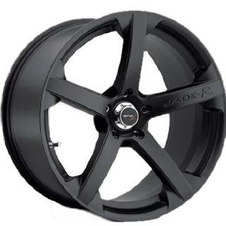 Drifz Jade R 20x9.5 Black Wheel / Rim 5x112 with a 35mm Offset and a 73.00 Hub Bore. Partnumber 27B 09551235 Automotive