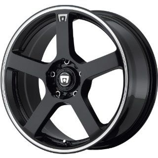 Motegi MR116 15 Black Wheel / Rim 4x100 & 4x4.25 with a 40mm Offset and a 72.6 Hub Bore. Partnumber MR11656508340 Automotive